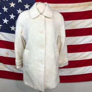 Vintage mohair appleseed's coat